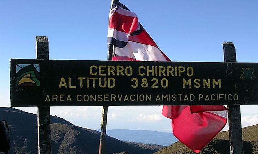 Cerro Chirripó, the highest mountain in Costa Rica is located in the ​Chirripó National Park​.