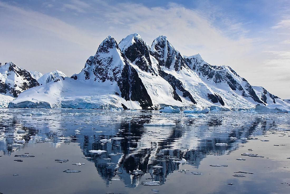Antarctica is an example of a polar climate.