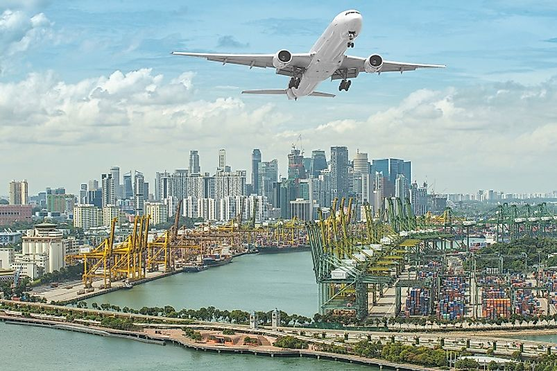 The airports and shipping ports of Singapore are some of the busiest, yet most efficient, on earth.