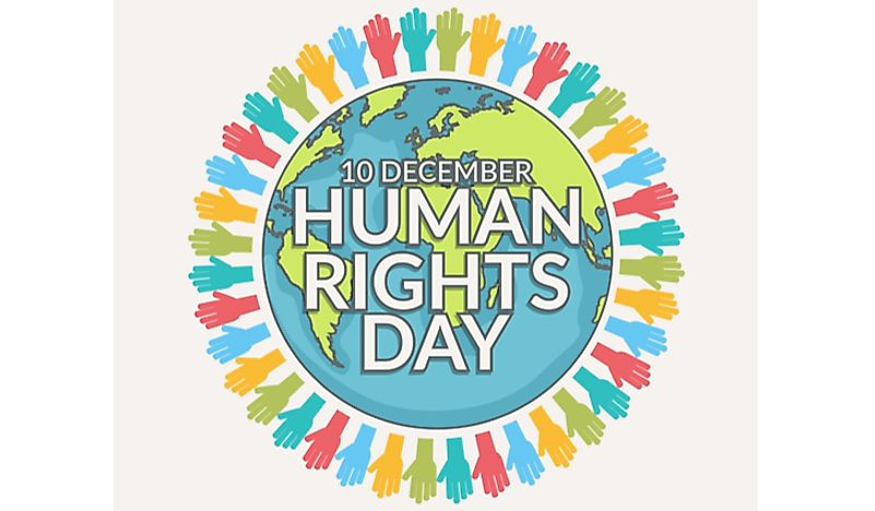 Human Rights Day is December 10.