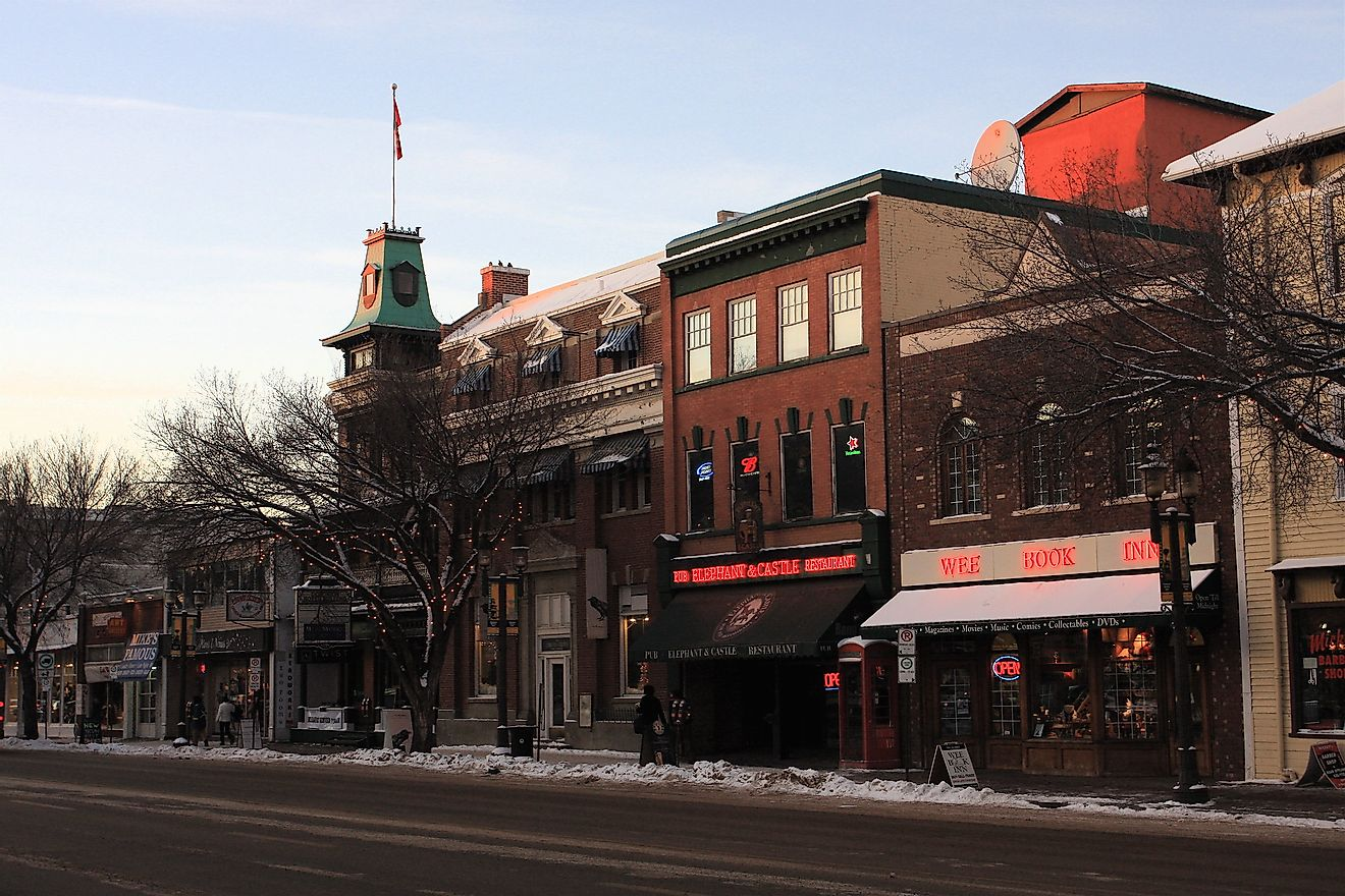 Old Strathcona locality in Edmonton. Image credit: TravelingOtter