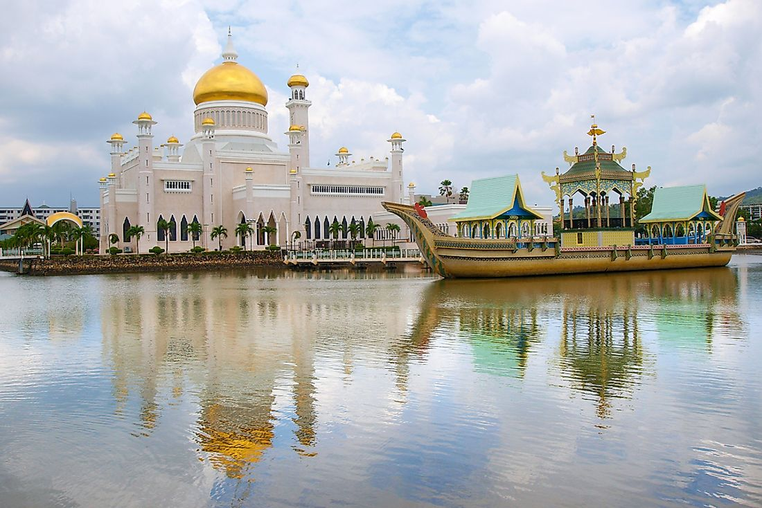 A mosque in Brunei.