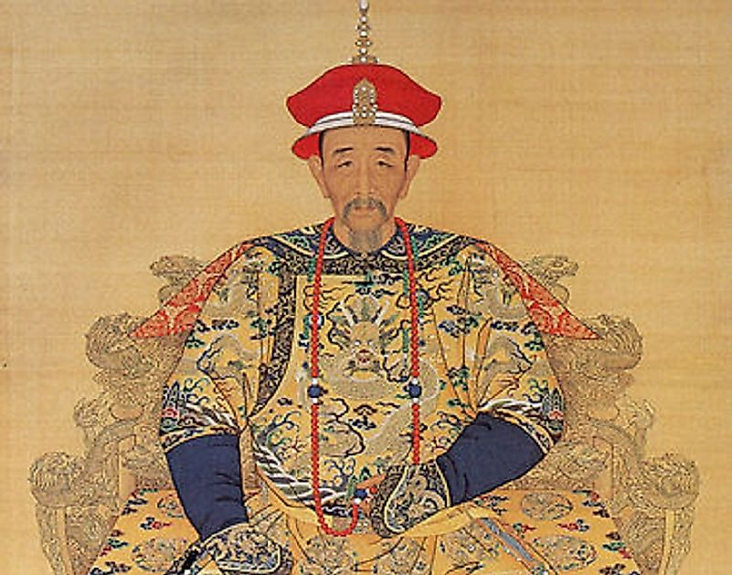 The Kangxi Emperor greatly expanded the early Qing territories in the late 17th and early 18th Centuries. He is considered China's longest reining emperor.