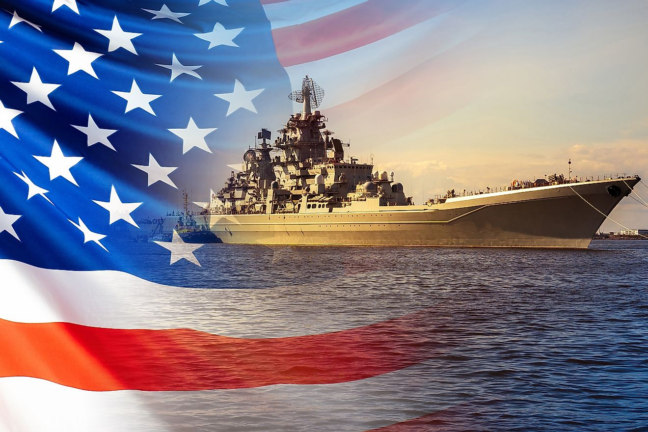 The Navy of the United States of America protects the country's maritime borders. Image credit: FOTOGRIN/Shutterstock.com