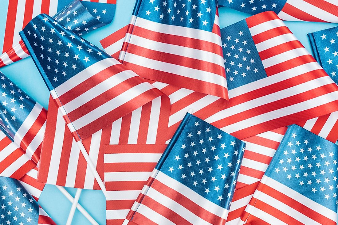Stars and stripes are among the most famous symbols of Americana.