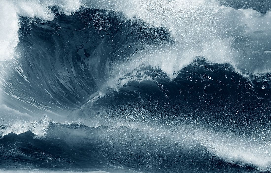 High waves, especially those in the form of tsunamis, have claimed thousands of lives and property in the past.