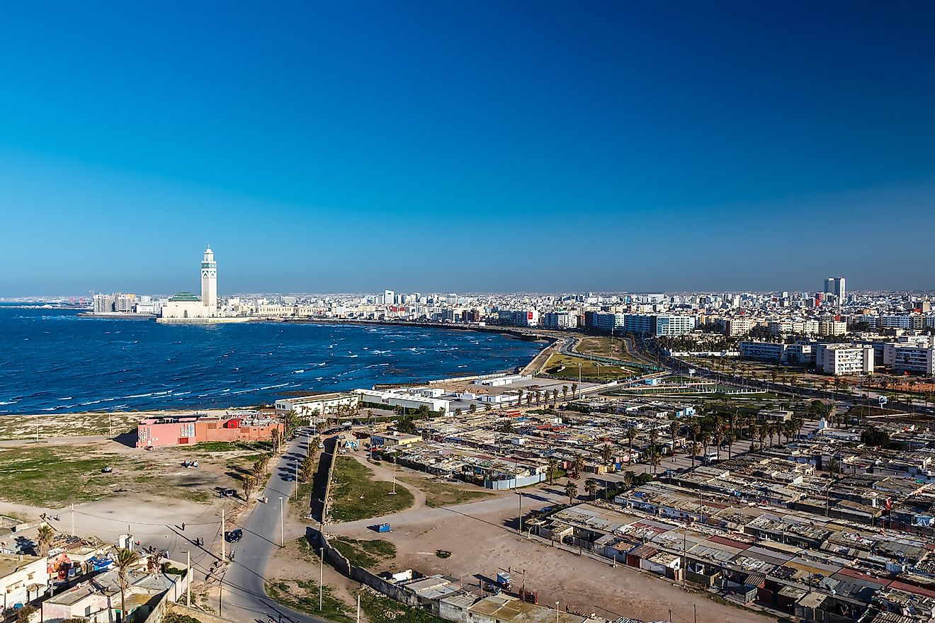 City panorama. Casablanca, Morocco. Africa. Image credit: Masterovoy/Shutterstock.com