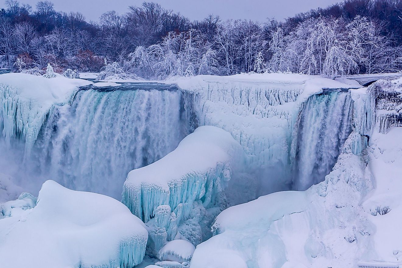 Does Niagara Falls Freeze? Has Niagara Falls Frozen?