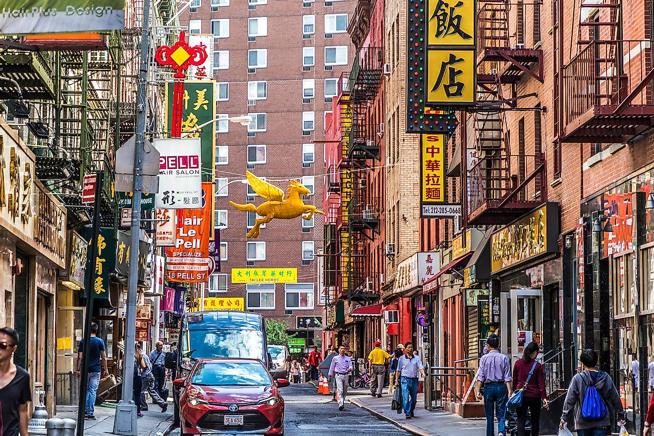 Chinatown in New York City. Image credit: Travelview/Shutterstock.com