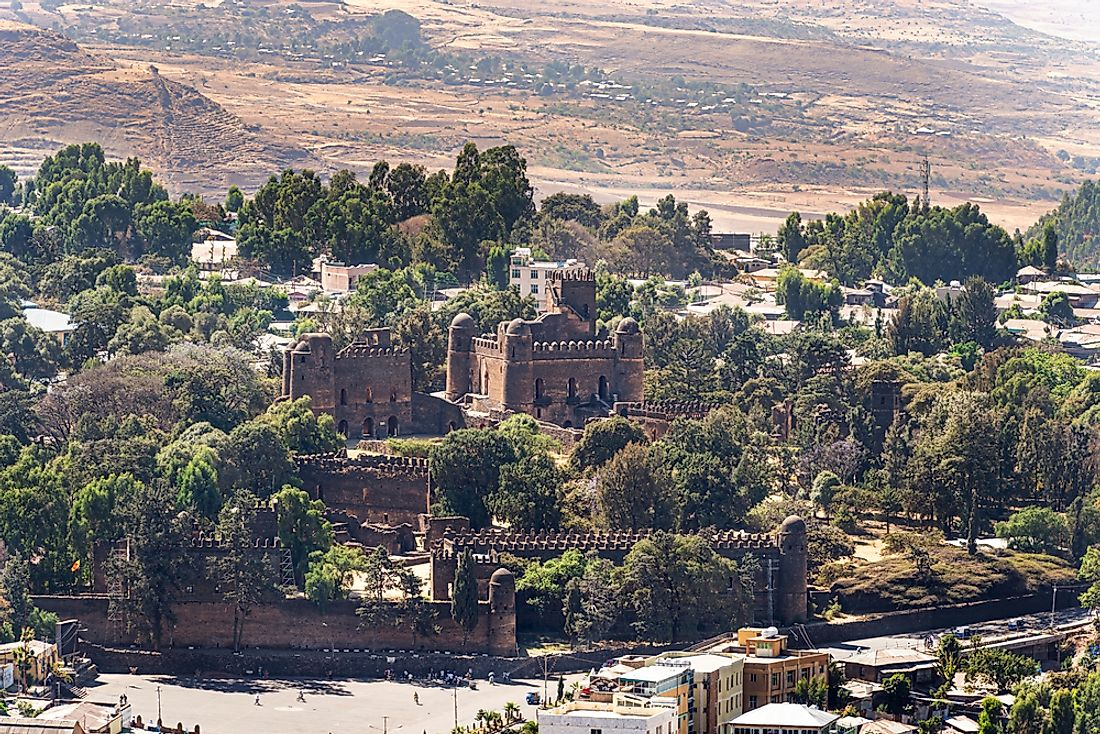 Gondar is well known for the ruins in Fasil Ghebbi, a UNESCO World Heritage site.