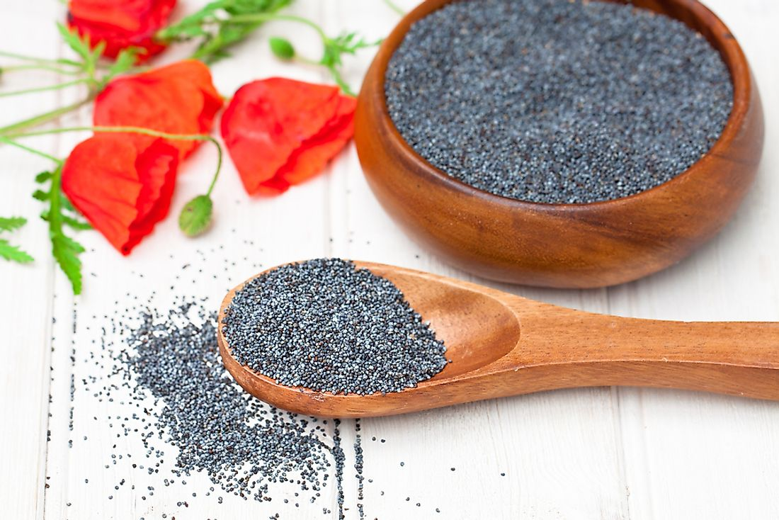 The Czech Republic is the leading producer and export of the poppy seed.