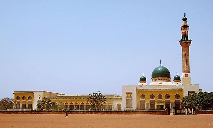 The Grand Mosque in Niamey, Niger.