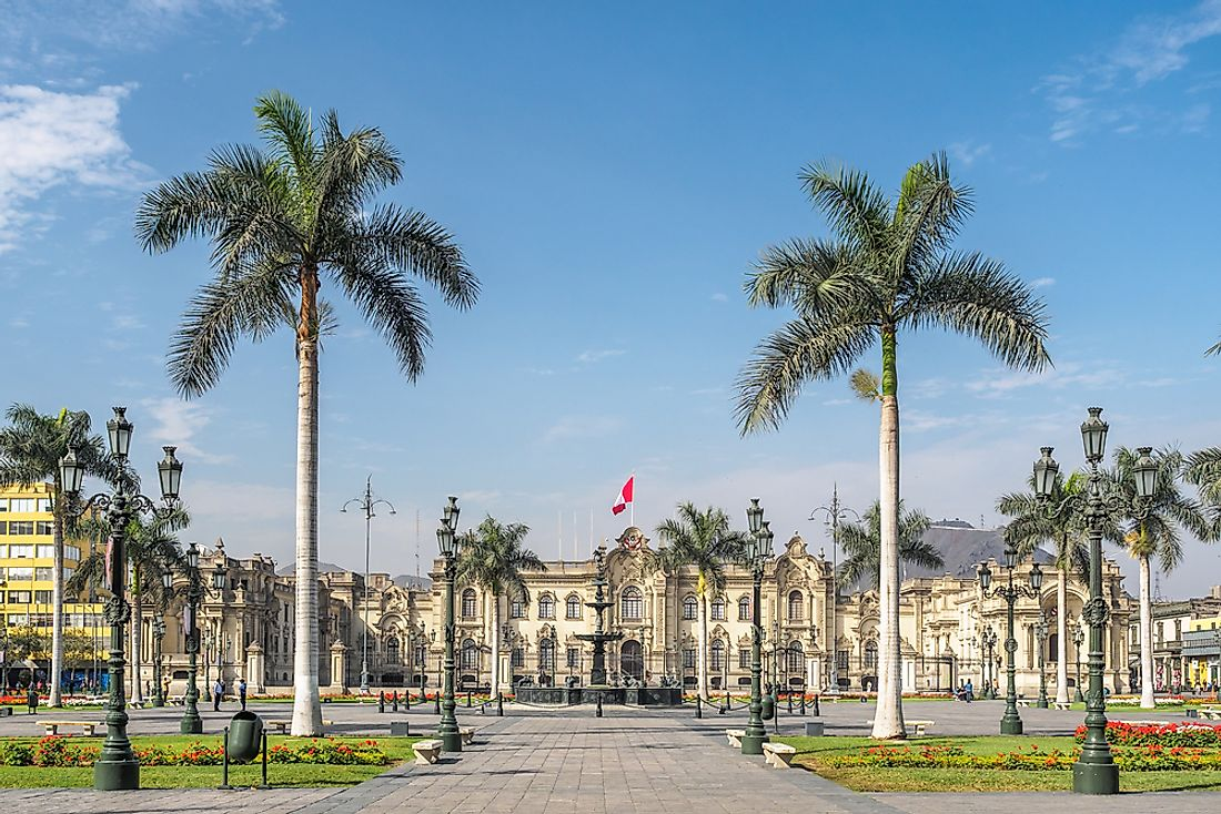 The Government Palace of Peru.