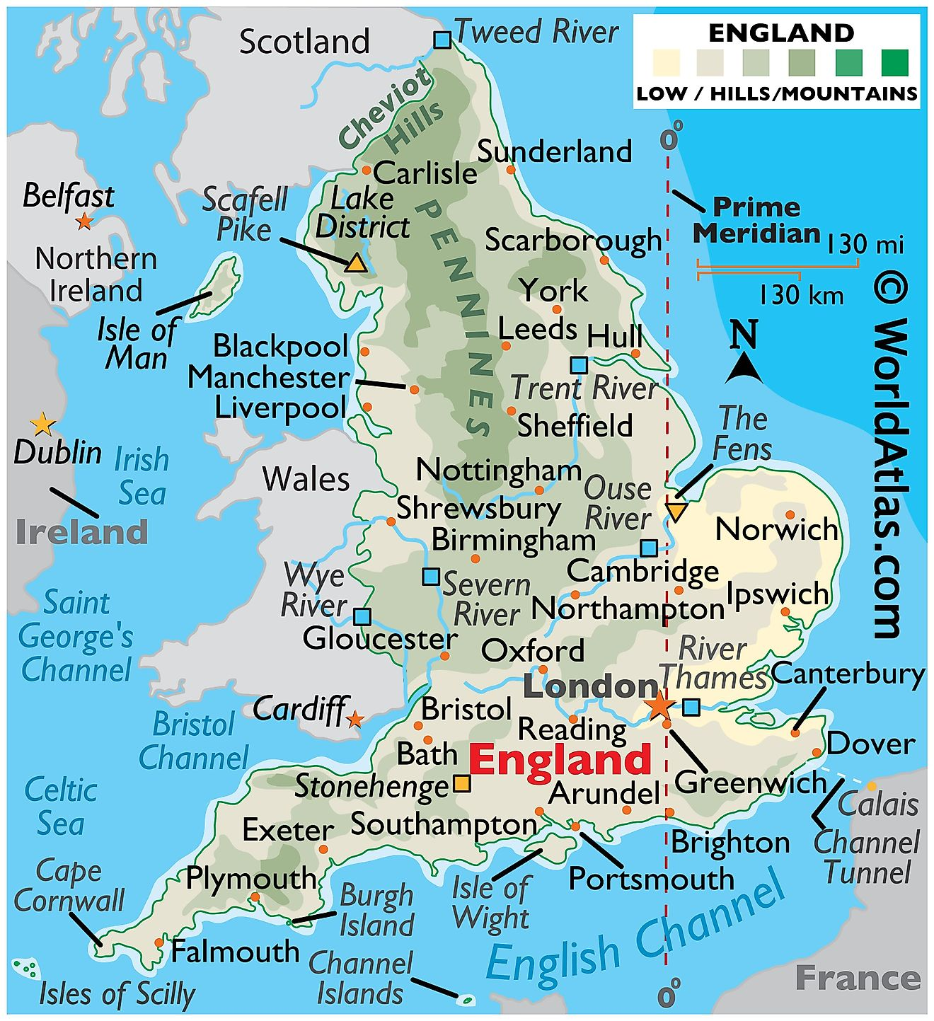 England south cities west South West