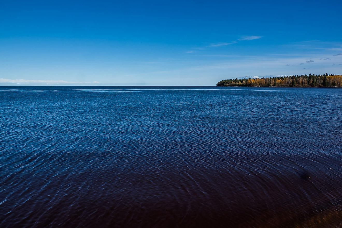 Great Slave Lake, Northwest Territories, Canada.