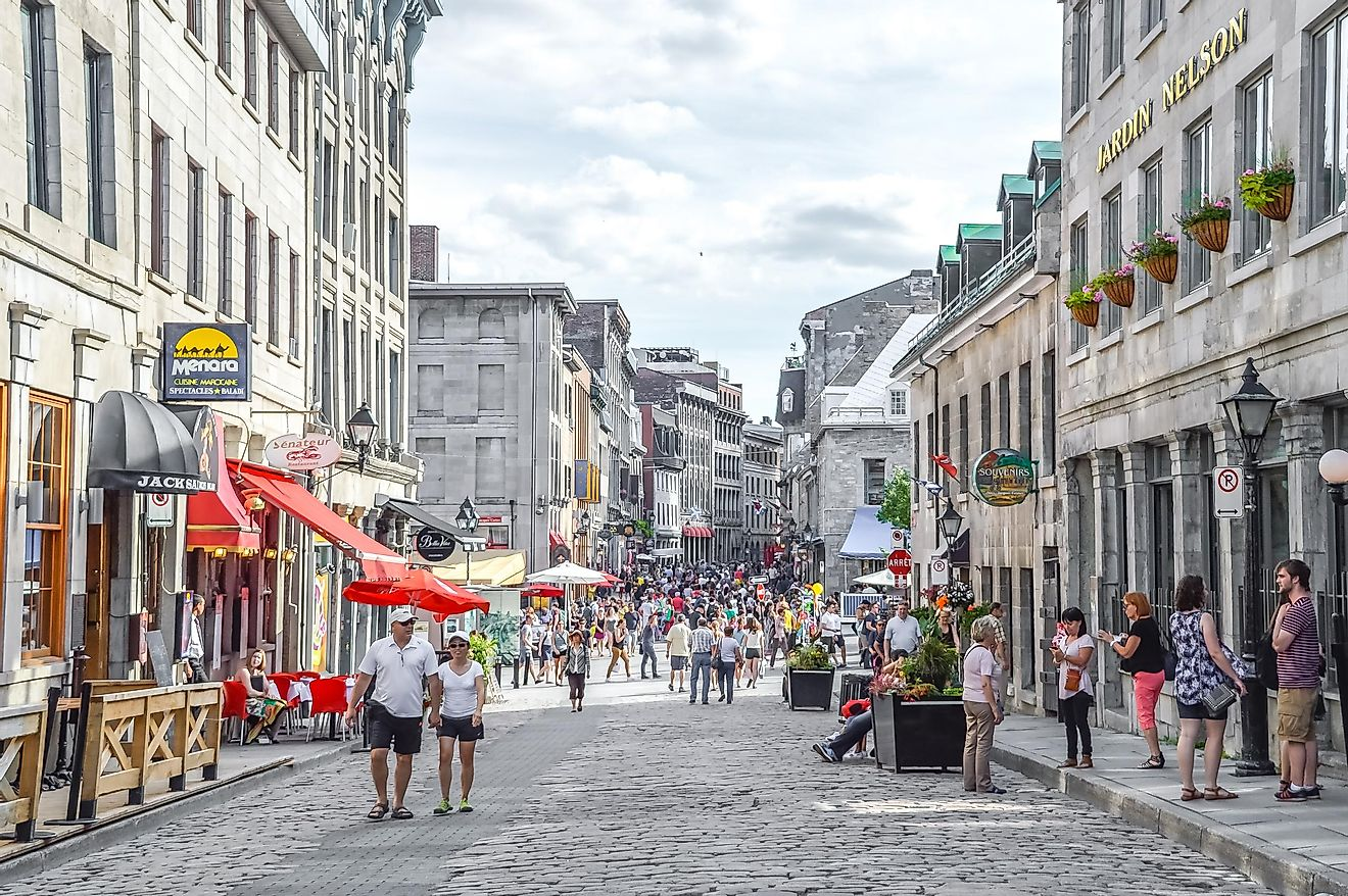 With 3,824,221 French-speaking people living in the city, Montreal earned its place in the upper half of our list. Image credit: BakerJarvis / Shutterstock.com