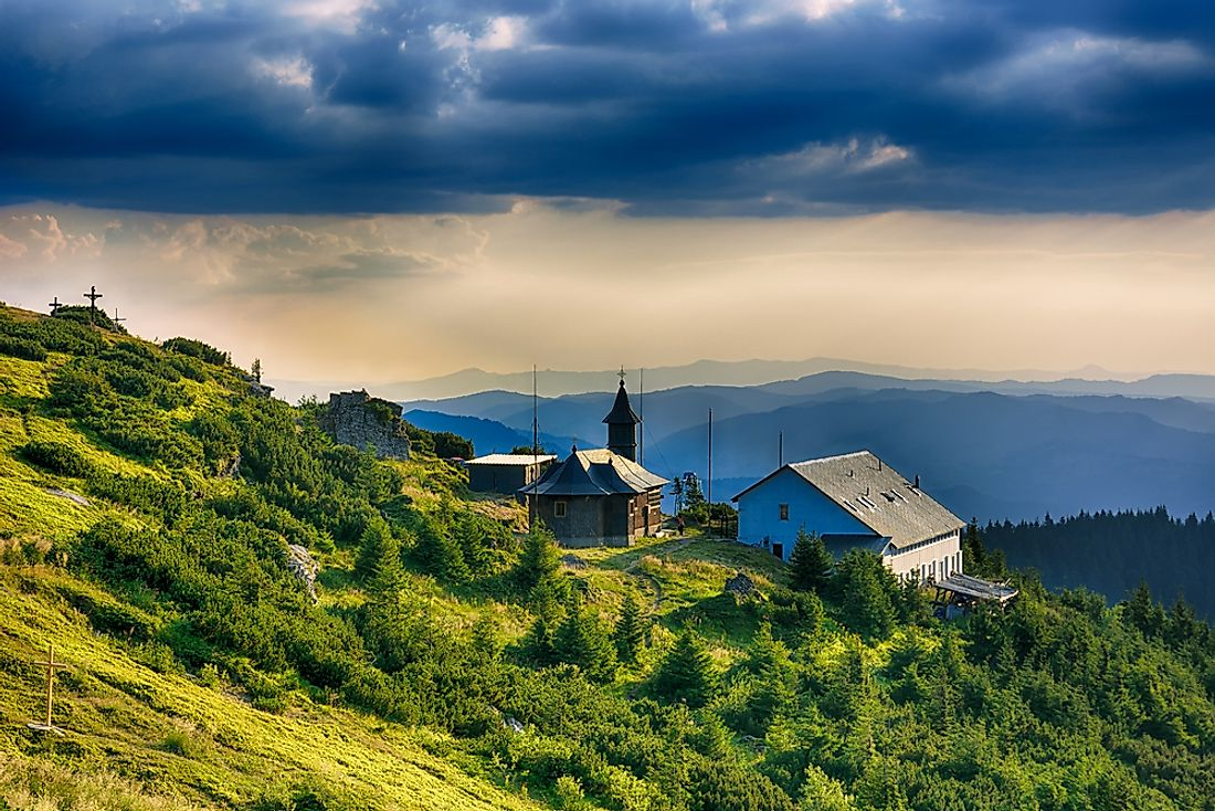 The Moldovan countryside.