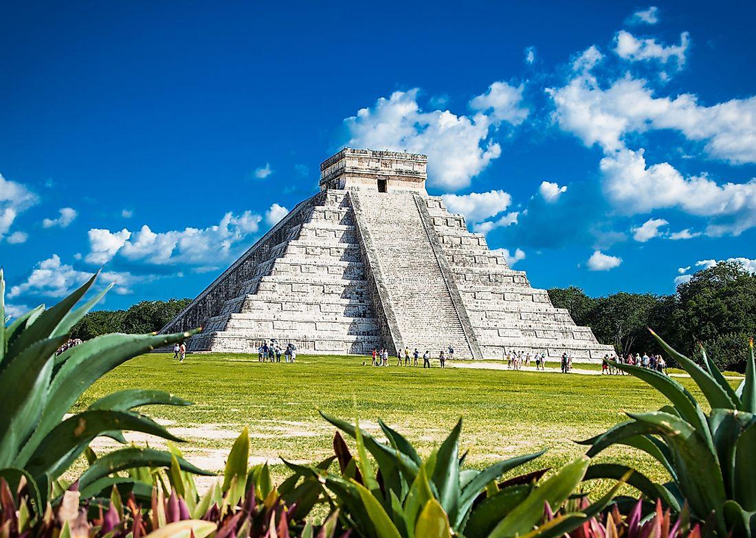 Chichen Itza in Mexico.