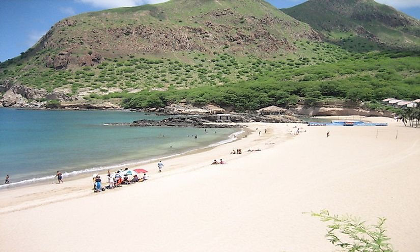Cape Verde is a beautiful country with spectacular beaches.