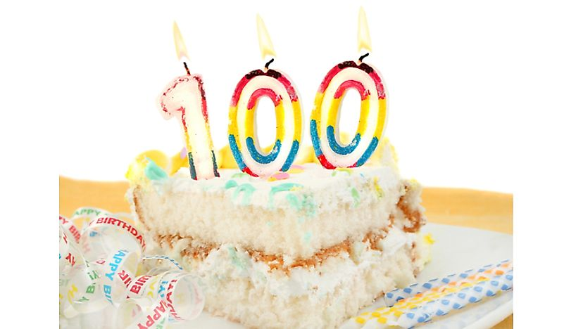"The term ""centenarian"" refers to somebody who is at least 100 years old."