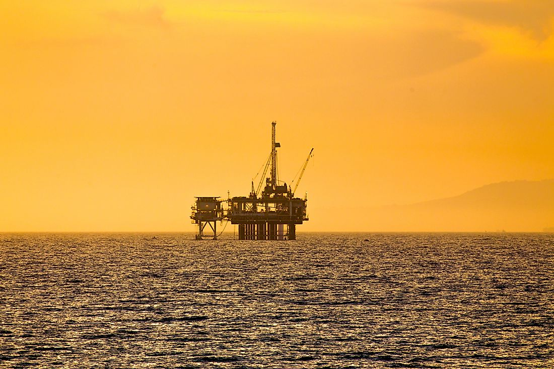 The oil and gas industry is lucrative in areas worldwide, including Europe.
