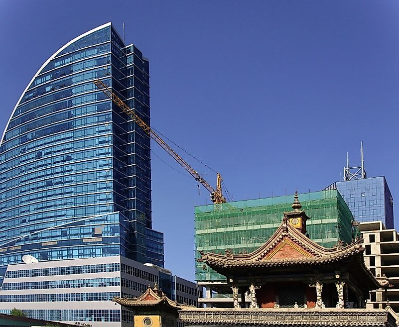 Construction projects in Ulaan Baatar and other parts of Mongolia are often financed with external debt stocks.