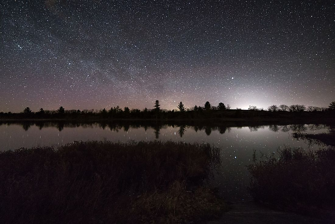 The Torrance Barrens Dark-Sky Preserve in Ontario was the first dark sky preserve in Canada.