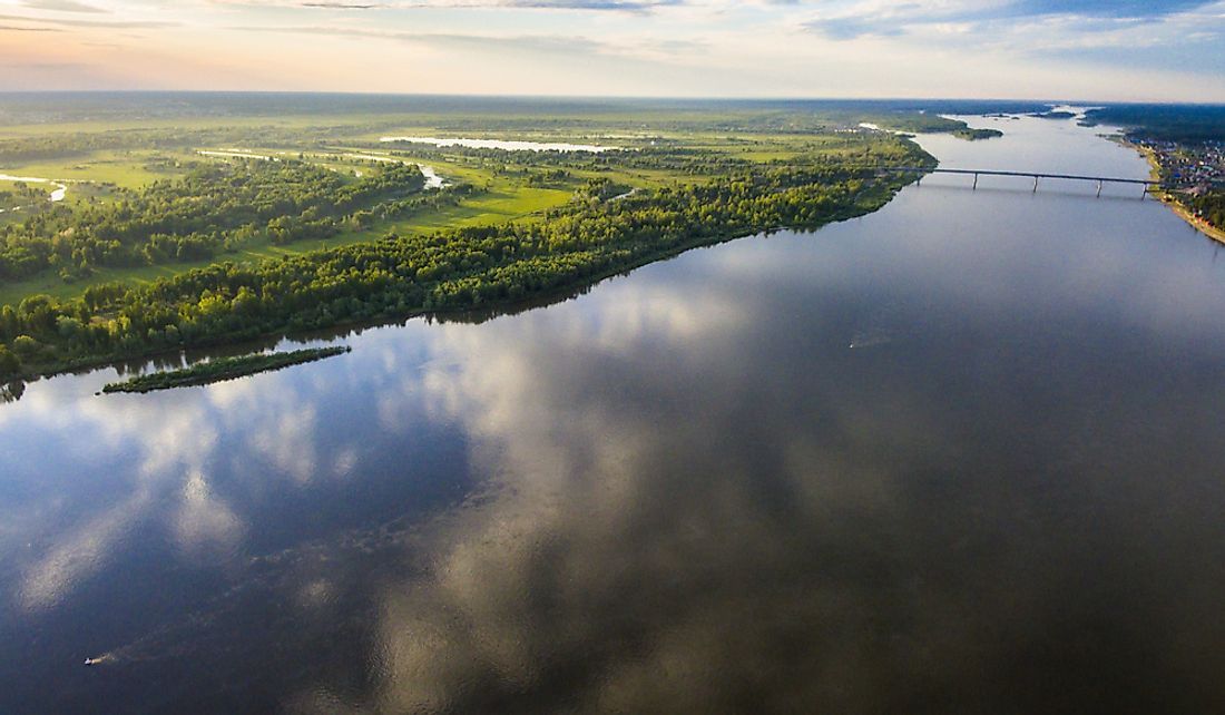 The Ob River is one of the major rivers that flow through Siberia.