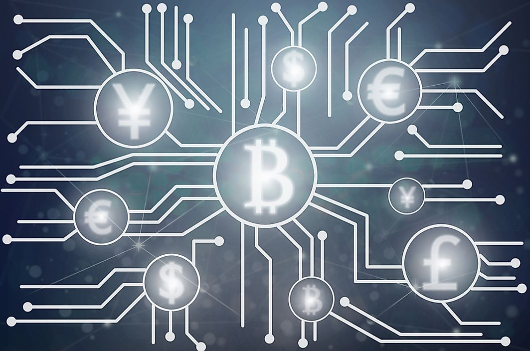Cryptocurrency is a digital currency in which encryption techniques are used to regulate the generation of units of currency and verify the transfer of funds, operating independently of a central bank.
