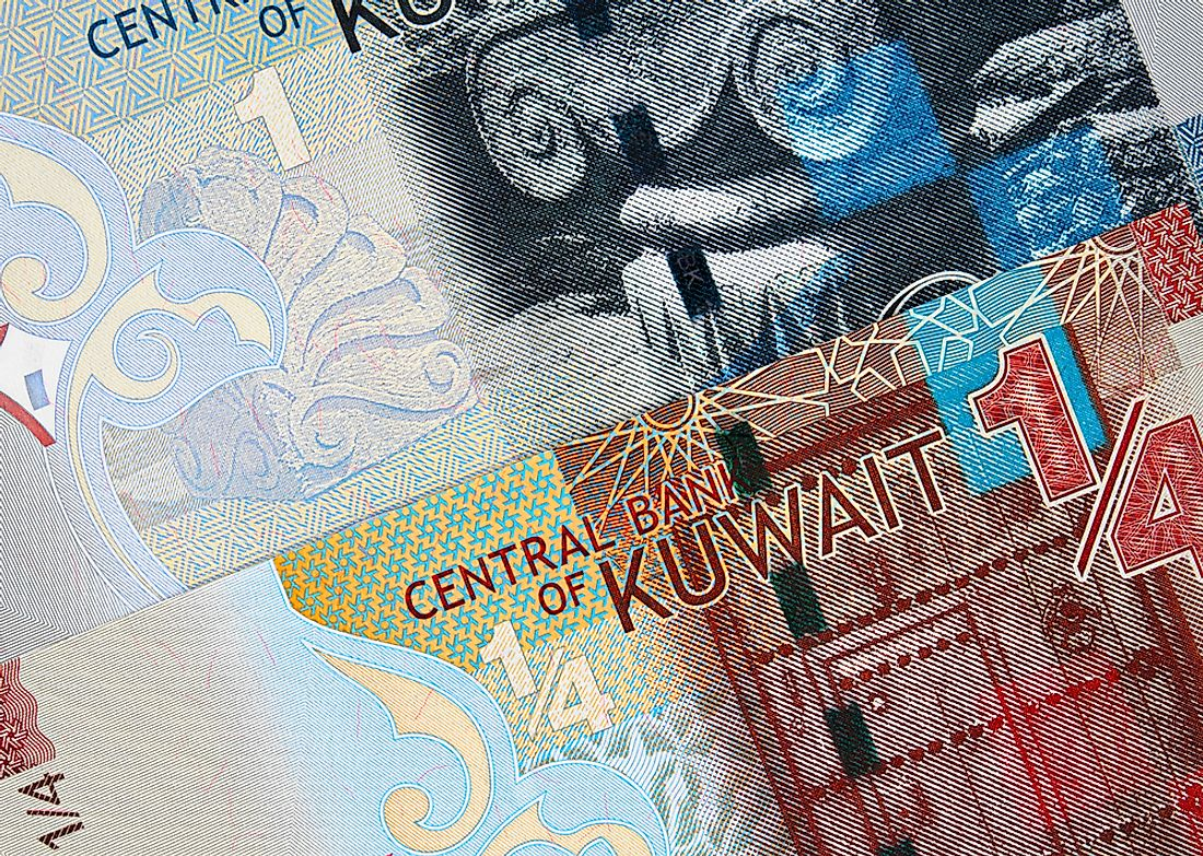 The Kuwaiti Dinar is the strongest currency in Asia.