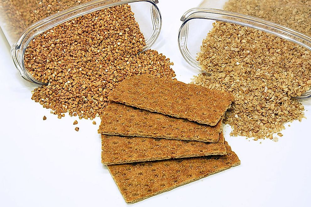 Buckwheat and products made from it.