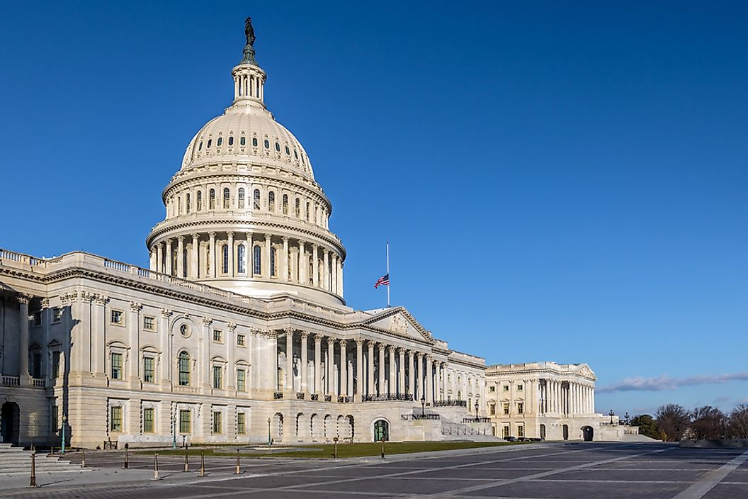 The Capitol Building in Washington, D.C., capital of the United States of America.