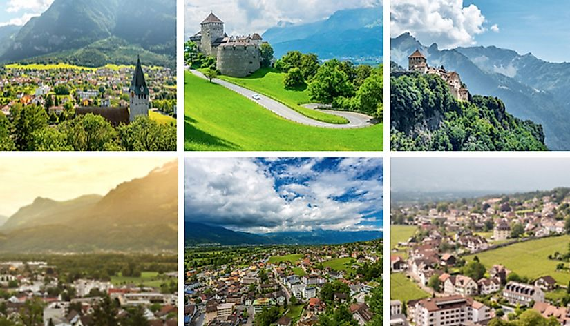 The sights of Liechtenstein.