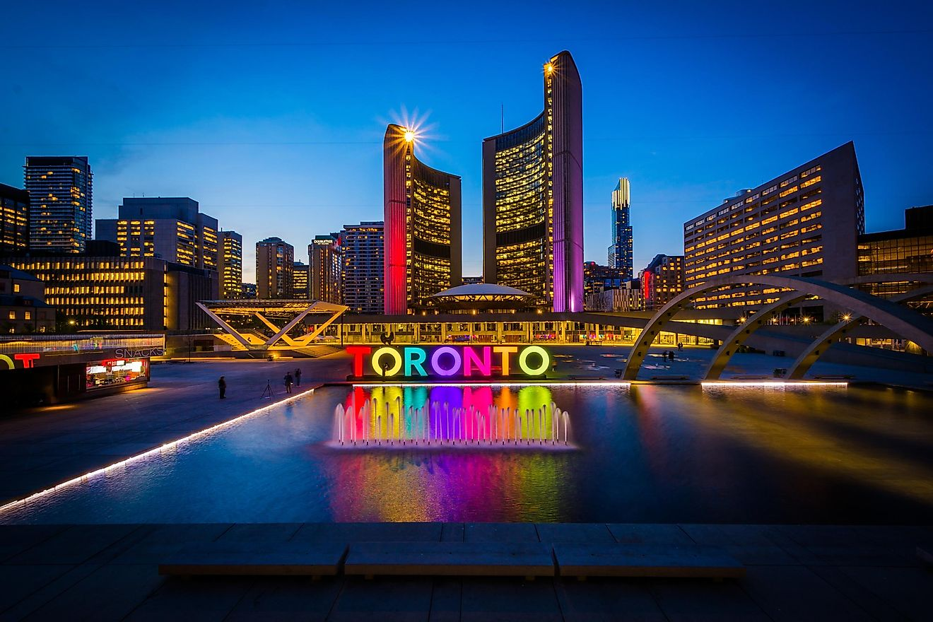 The largest city in Canada by population is Toronto.