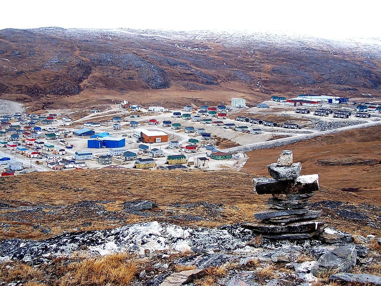 Salluit settlement, the second northernmost Inuit community in Quebec, Canada. Image credit: Louis Carrier/Wikimedia.org
