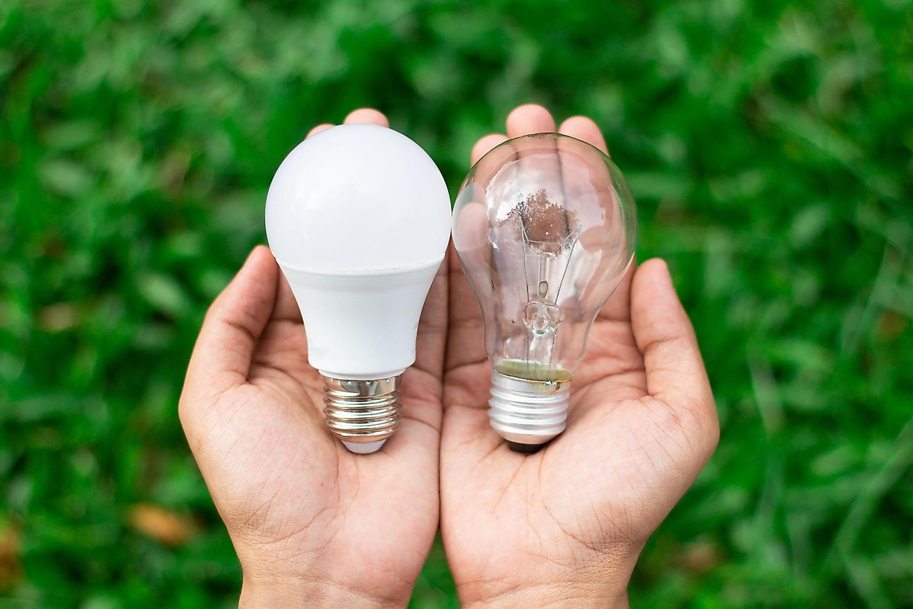 Instead of going for the incandescent or fluorescent light bulb, you can try using a LED light bulb.