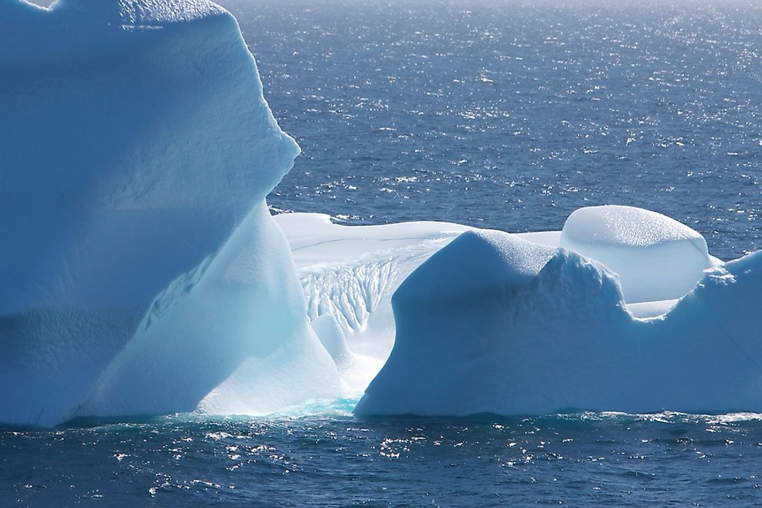 Antarctica is found in the South Frigid Zone.