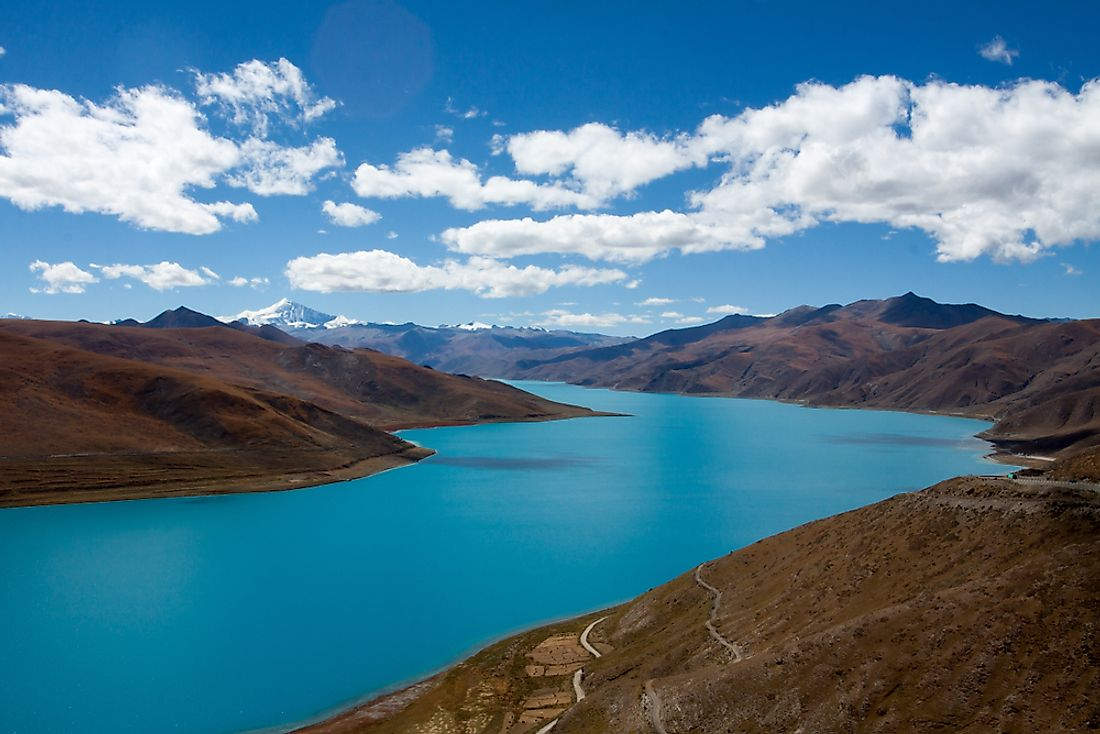 Due to its mountainous landscape, Tibet is considered to be a no-fly zone.