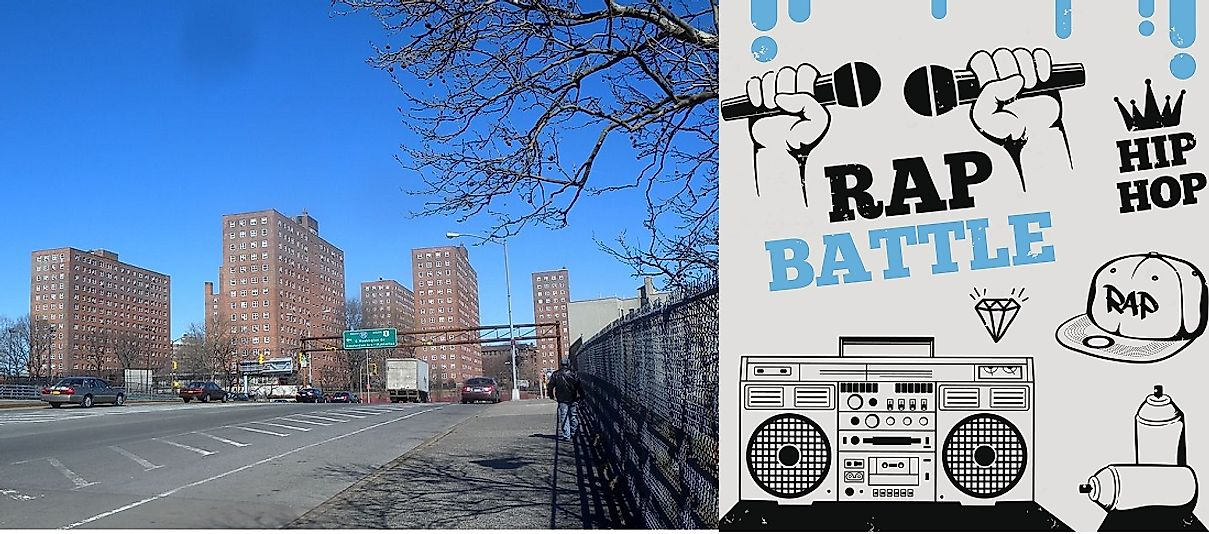 The Morris Heights neighborhood in New York City is often said to be the birthplace of Hip Hop.
