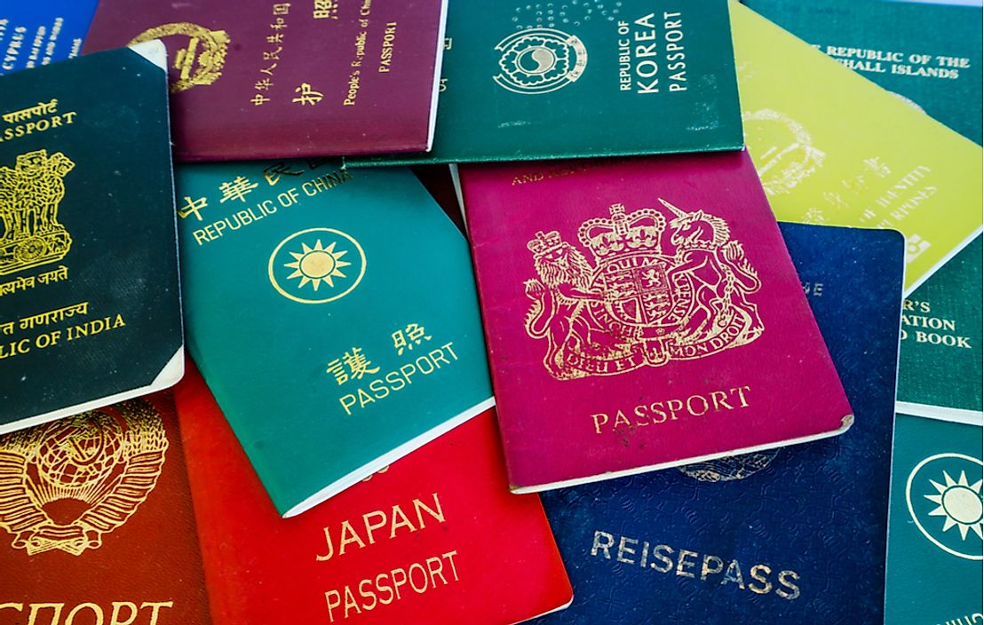 Most passports feature at least more than one language.