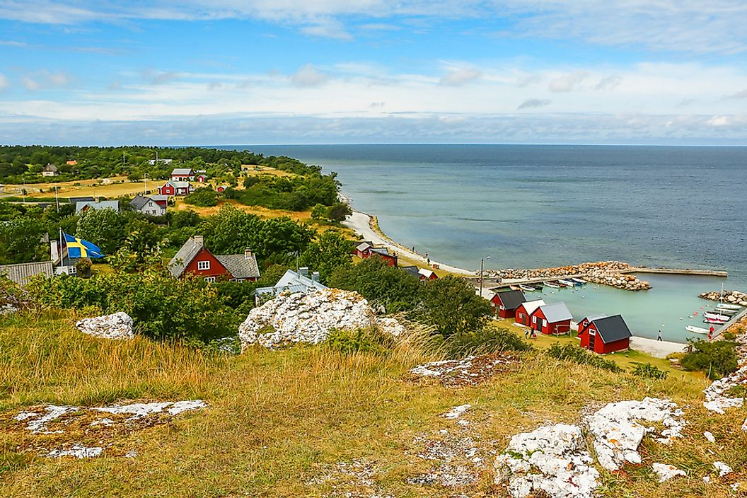 The Swedish island of Gotland is the largest island in the Baltic Sea.