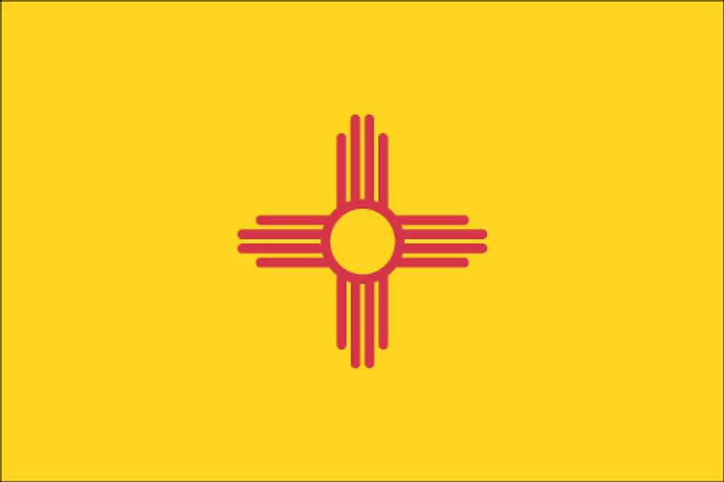 New Mexico's state flag was adopted in 1925.