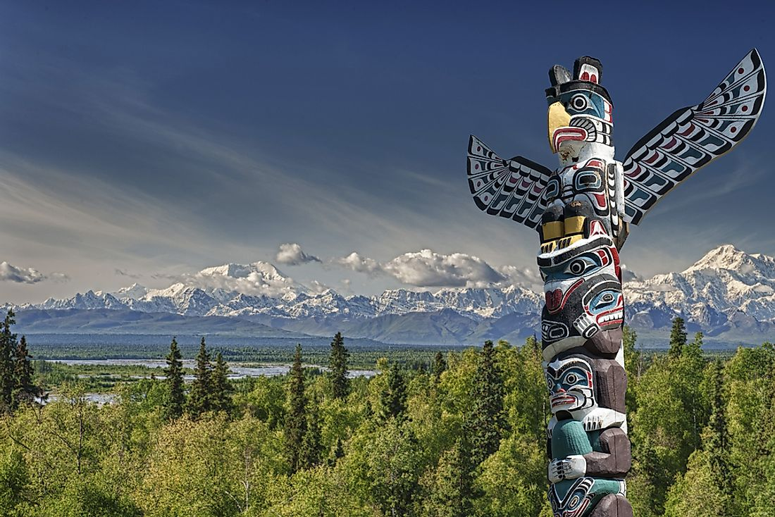 Several First Nations groups native to the West Coast of Canada carved totem poles prior to the arrival of Europeans.