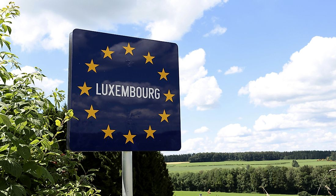 Luxembourg is a landlocked country in Western Europe.