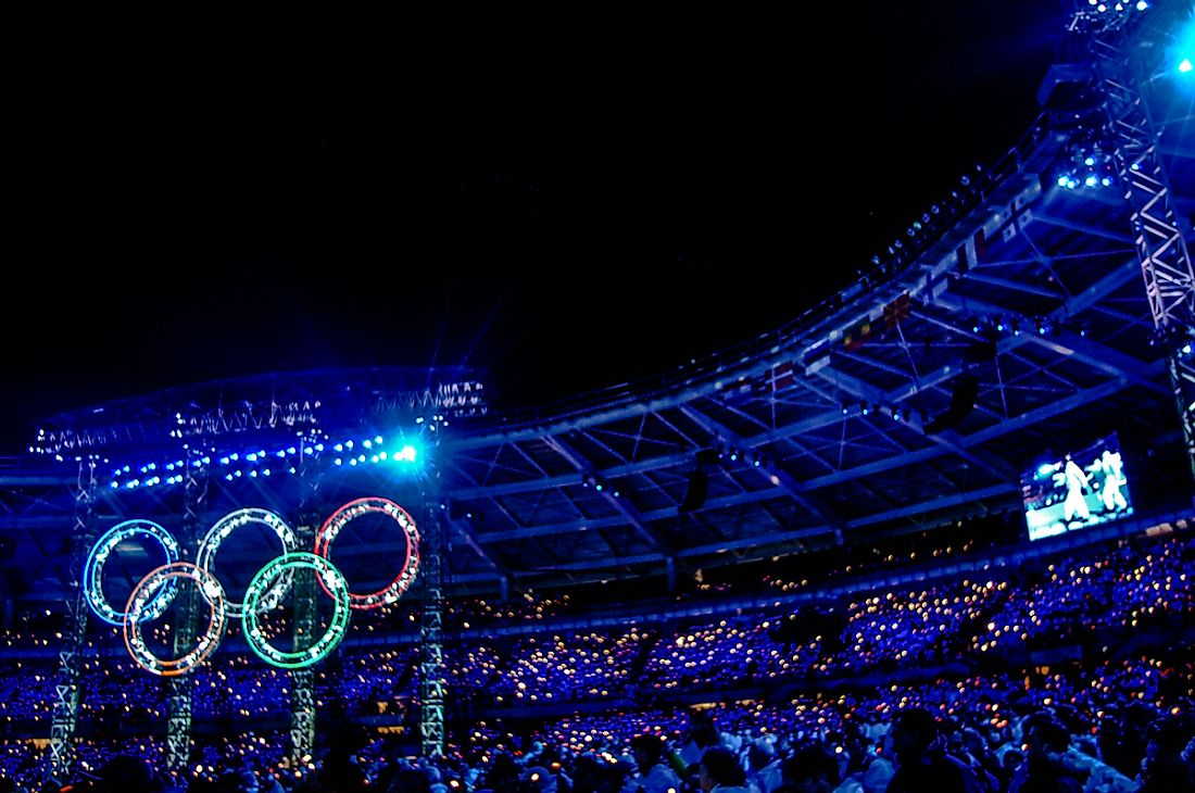 Several factors have favored the increased participation of nations in the Olympics in the last few decades. Editorial credit: Paolo Bona / Shutterstock.com.