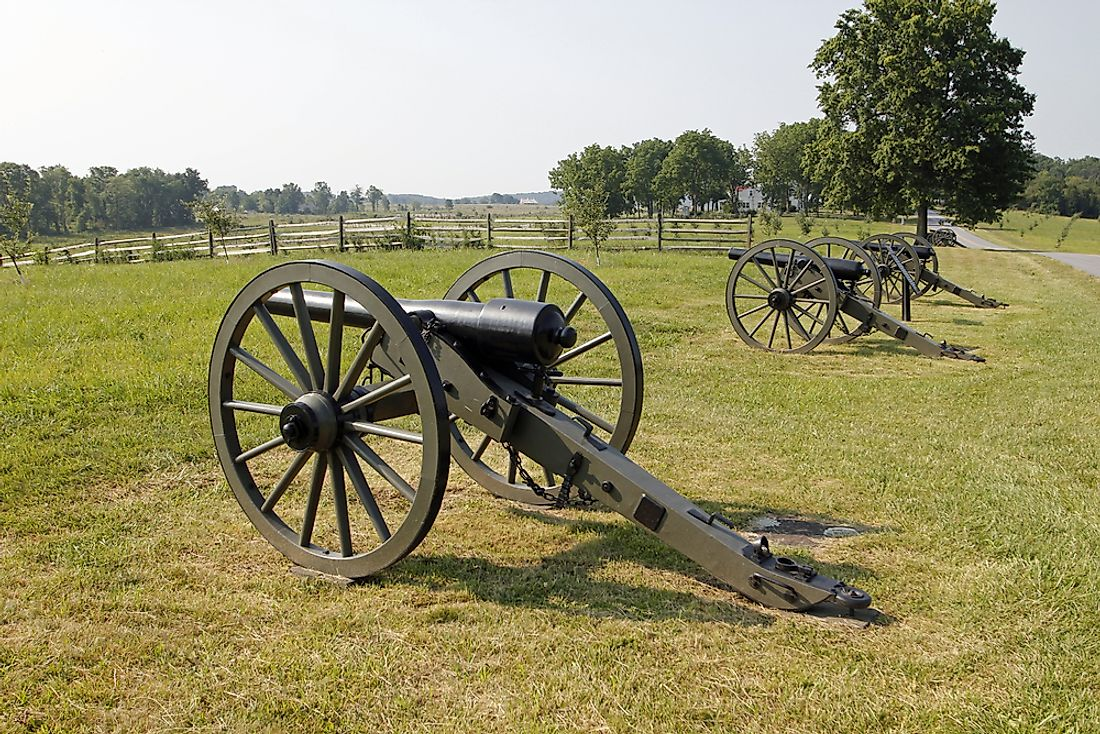 The U.S. Civil War was fought between the north (Union), and the south (Confederates).