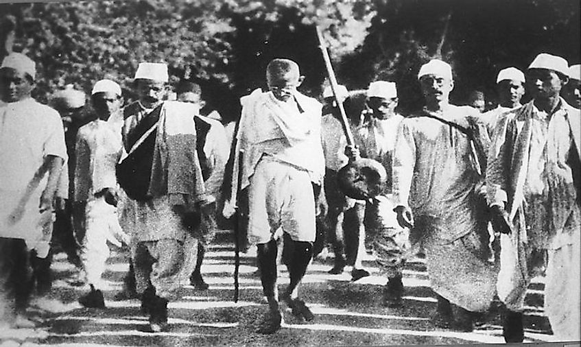 Mahatma Gandhi's non-violent activism allowed thousands of Indians from all walks of life to participate in the fight for independence.