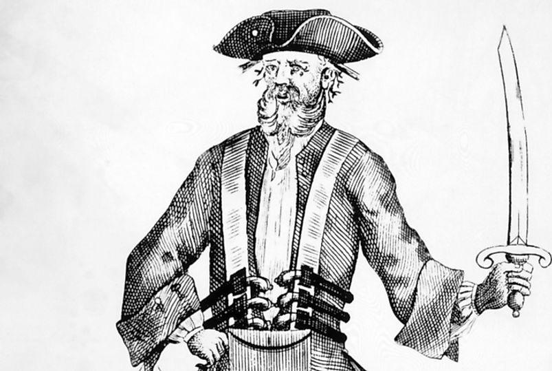 Edward Thatch, better known as Blackbeard, was an renown 18th century pirate.