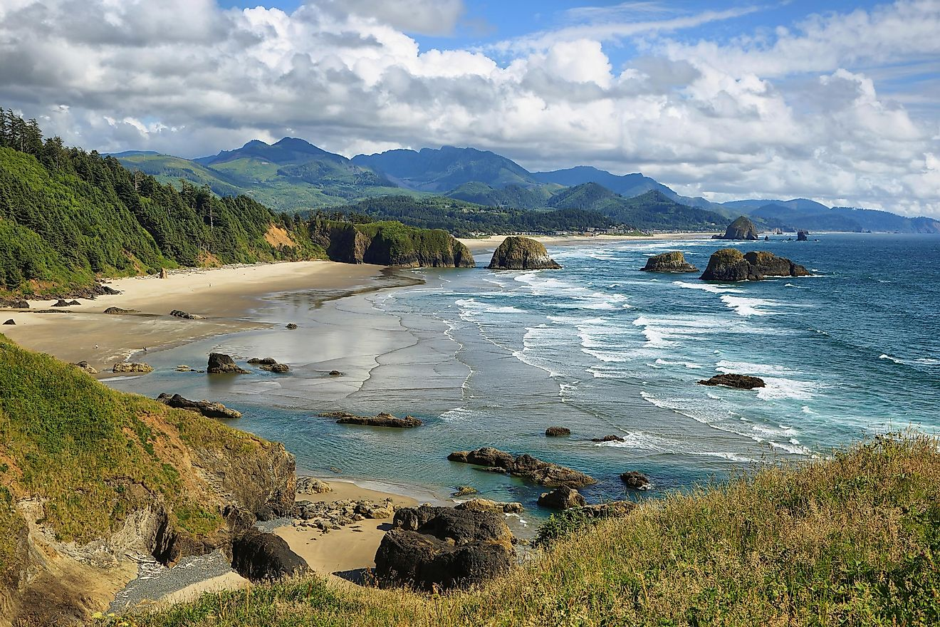 Indian Beach is a beautiful beach nestled in Oregon.