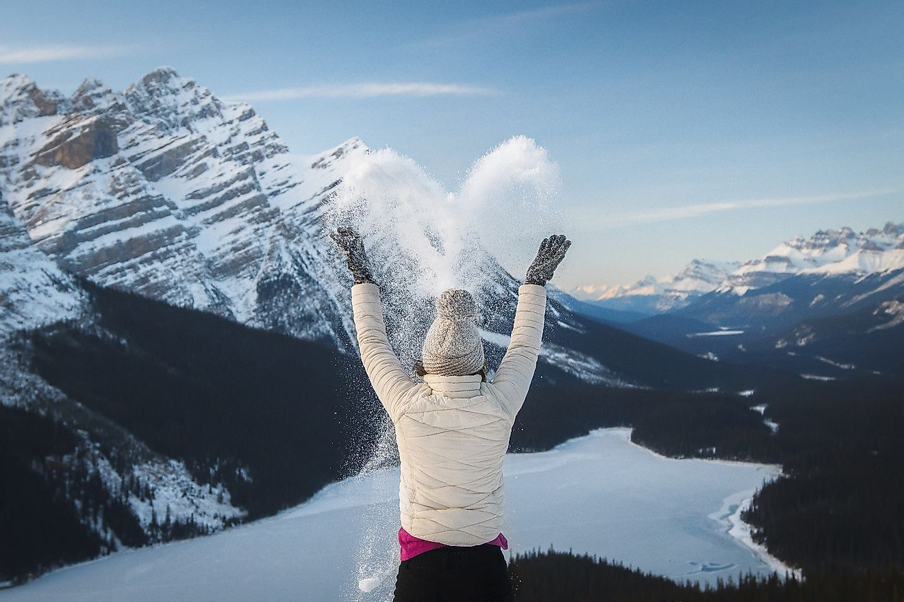 Canada is one of the world's coldest countries due to its northerly location. Image credit: Tomas Kulaja/Shutterstock.com